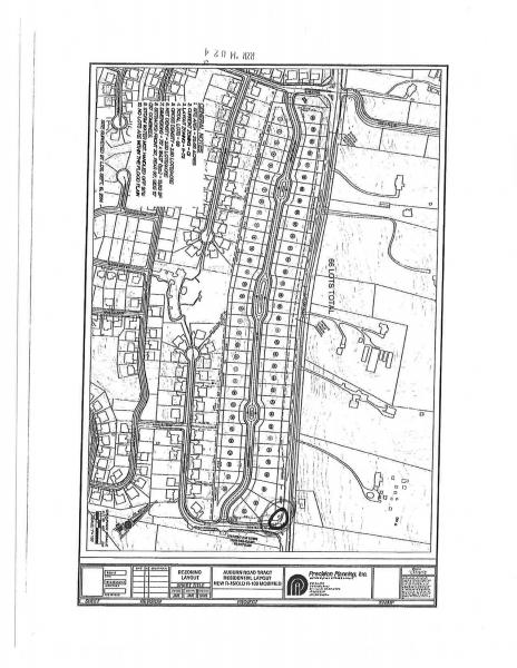 Site Plan, Brookside Crossing
